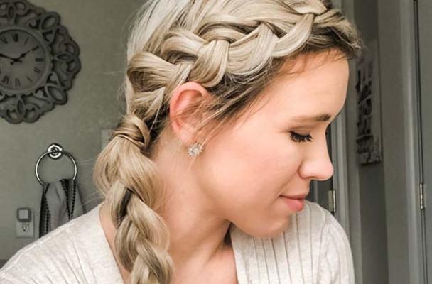 Elegant DIY Side Braid