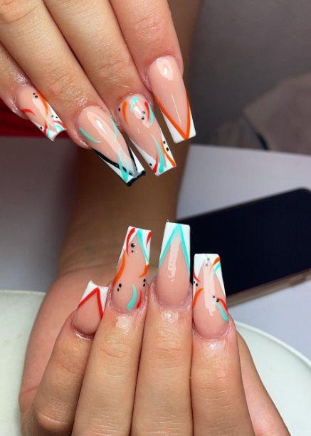 Acrylic nail trends 2021