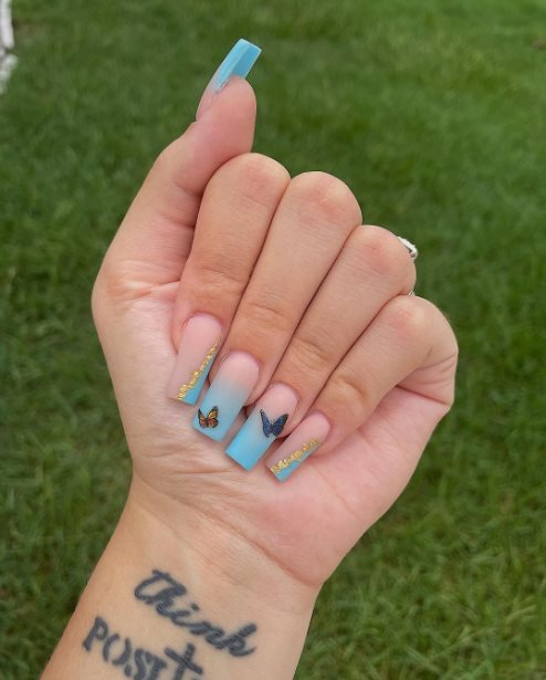 Butterfly nail designs 2021