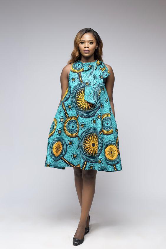 Ghanaian maternity dresses