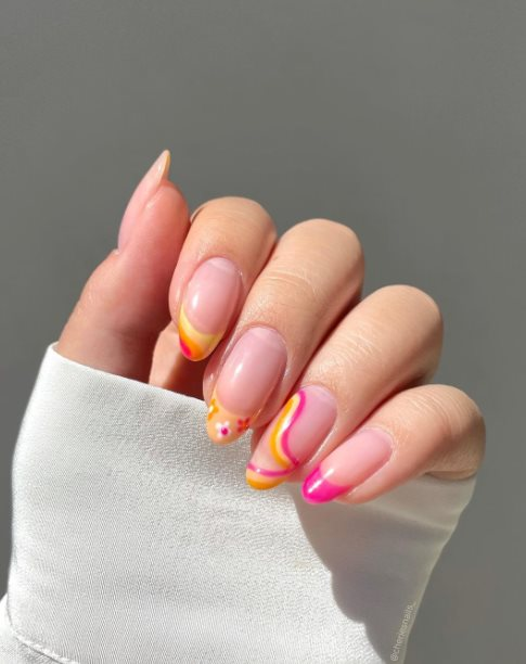 26+ Trendy Pink Ombre Nail Art Ideas For Best Manicures 2021