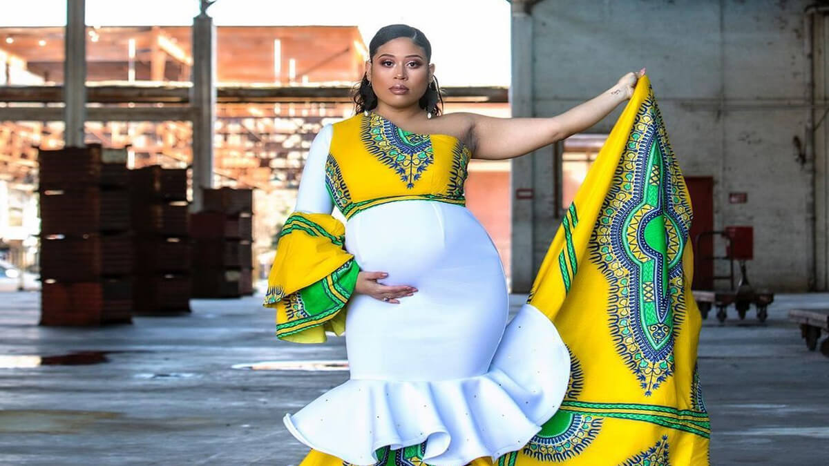 18 Best African Maternity Dress Styles To Rock In 2018