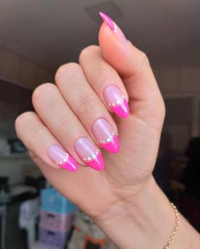 Halloween Almond Nails