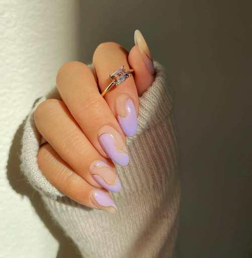 Summer wedding nails
