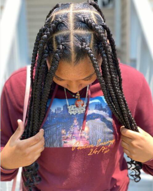 Tribal braids styles