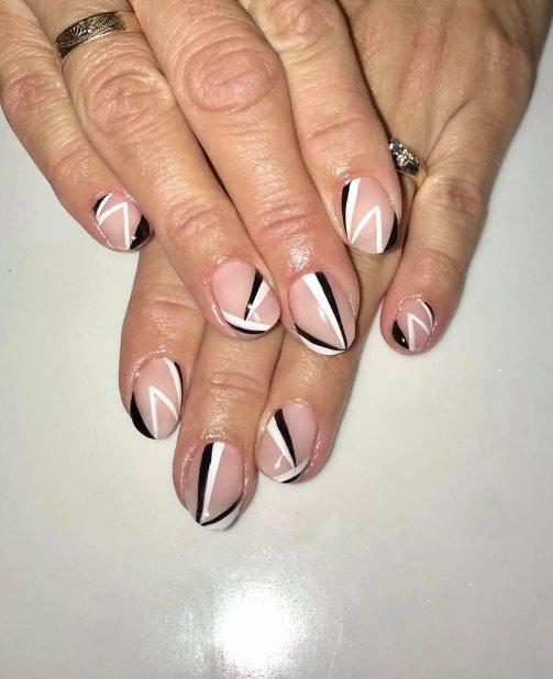 Black Fall Manicure
