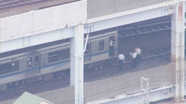 京成押上線青砥駅で列車脱線 けが人の情報なし 東京 葛飾 | NHKニュース