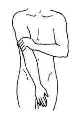 19 und Innenseite Oberschenkel - Jin Shin Jyutsu für die Hüfte