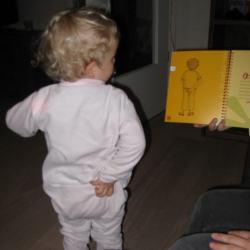 Kind strömt mit Luca von Ilse Fraisl 1