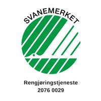 Anker Renhold har Svanemerket sine renholdstjenester. Ved å velge svanemerket vet du at kravene som stilles til tjenestene er høye