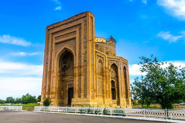 Foto eines Mausoleums aus Gurgandsch