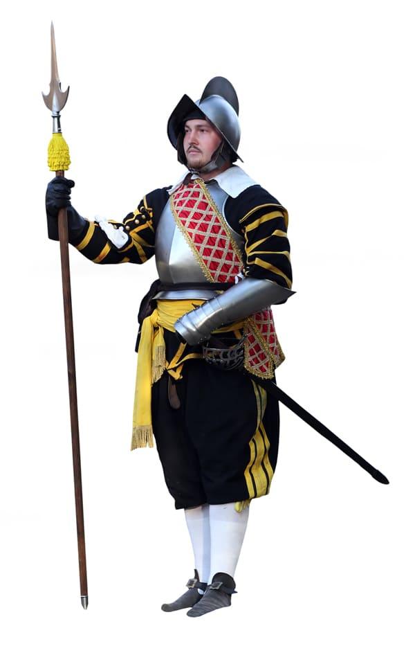 Grafische Darstellung eines typischen Konquistadors