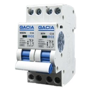 GACIA M80N-2P2N-C16 inst. 2p+2n C16 6kA