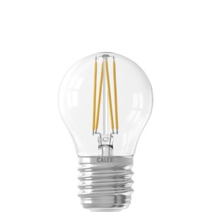 Filament Clear Ball-lamp P45 E27 220-240