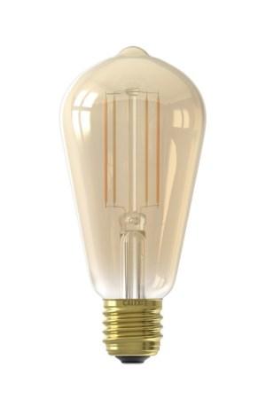 Calex Smart LED Filament Gold Rustic-lam