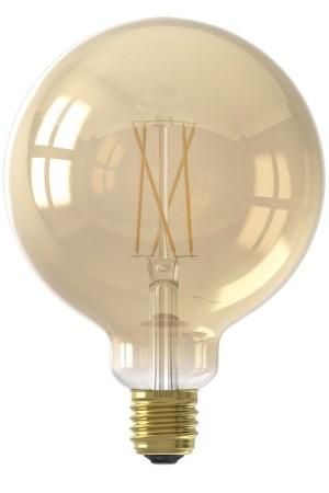 Calex Smart LED Filament Gold Globe-lamp