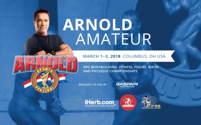 The Arnold 2018: WPD Amateur Timeline