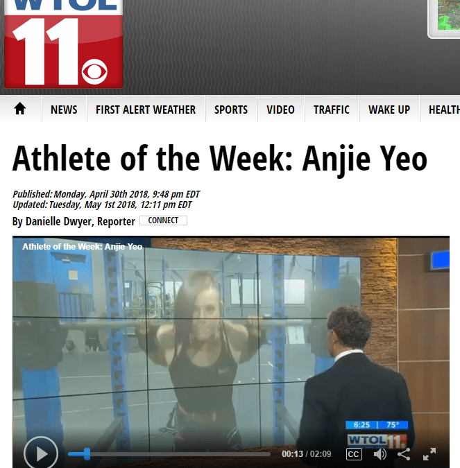 WTOL11 Athlete of the Week: Angela Yeo — Full Video