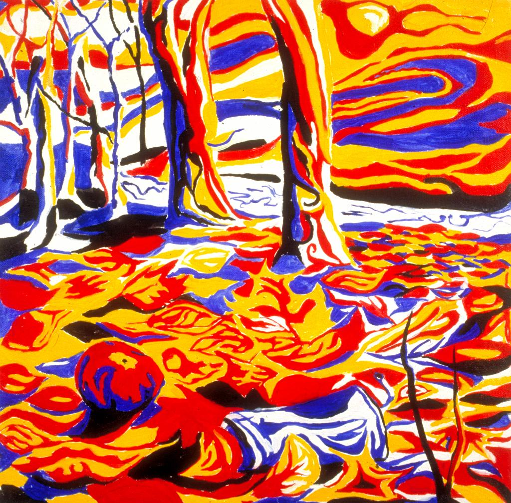 Primary Colors Painting