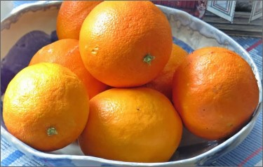 apelsiner...