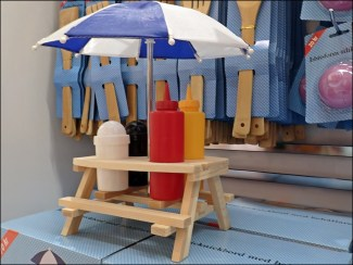 Kryddställ med parasoll