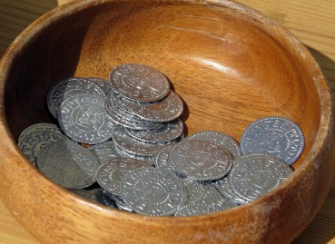 Nyslagna mynt