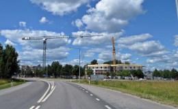 Mycket vägarbeten och andra byggen i Örebro...