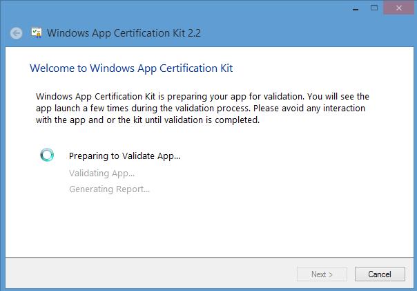 Windows App Certification Kit Process- Part 1 – Ankita Kulkarni
