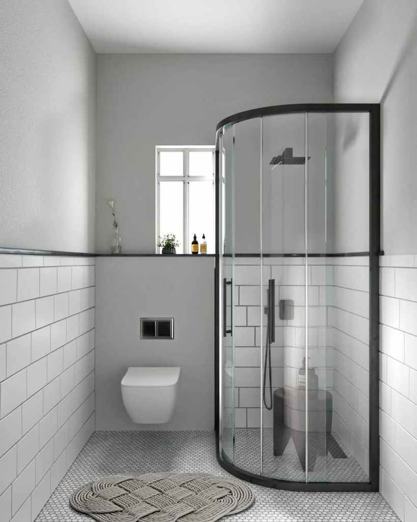 Bathroom View Of Atmosphere Happy Homes - Flats In Siliguri