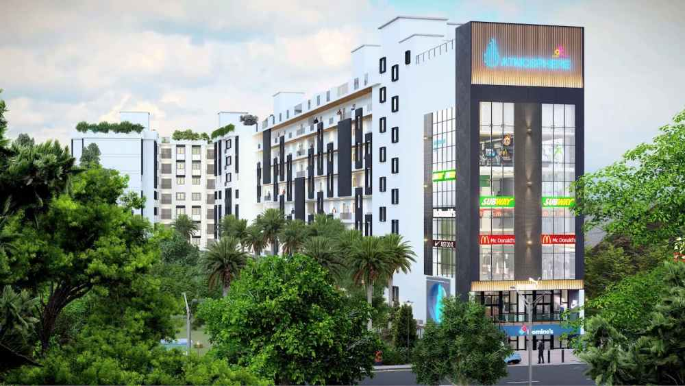 Full Building View Atmosphere Happy Homes - Flats In Siliguri