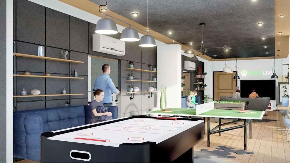 Games Room Atmosphere Happy Homes - Flats In Siliguri