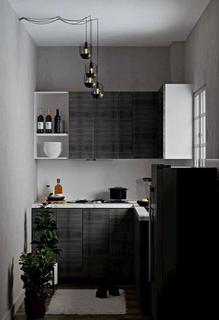 Kitchen View Atmosphere Happy Homes - Flats In Siliguri