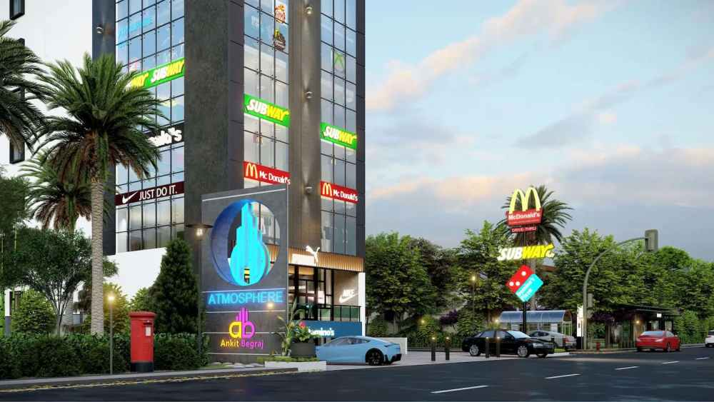 Road Side View Atmosphere Happy Homes - Flats In Siliguri