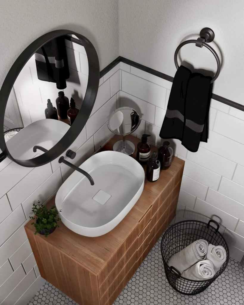 Sample Interiror Of Washroom At Atmosphere Happy Homes