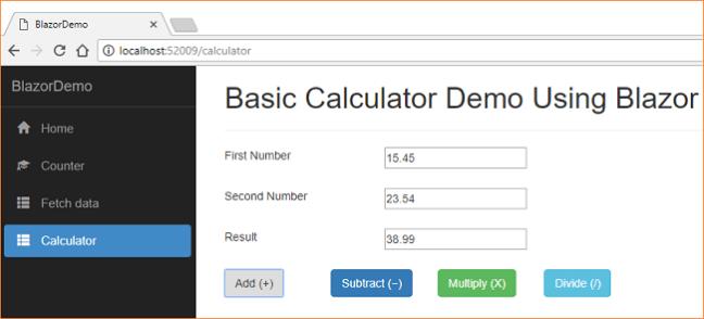ASP NET Core - Getting Started With Blazor - Ankit Sharma's Blog