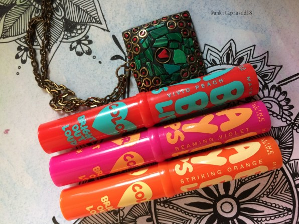 maybelline baby lips bright out loud tubes
