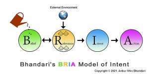Bhandari's BRIA Model of Intent - TEDx Talk