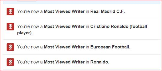 most viewed writer quora