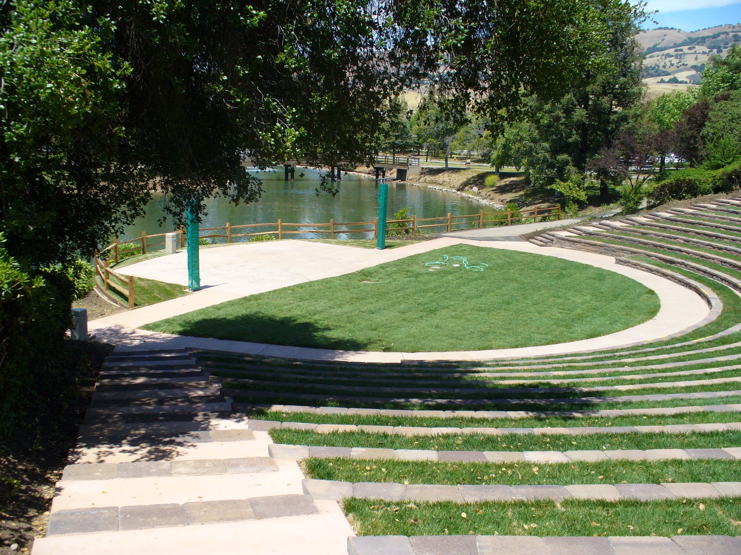 Evergreen Valley Community College <h5>Amphitheater</h5>