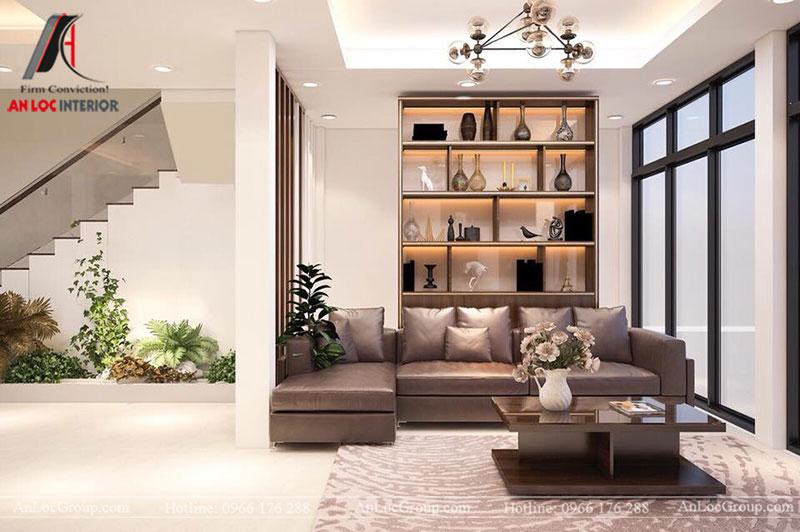 Mẫu nội thất nhà phố đẹp tại Bắc Ninh - Ảnh 1