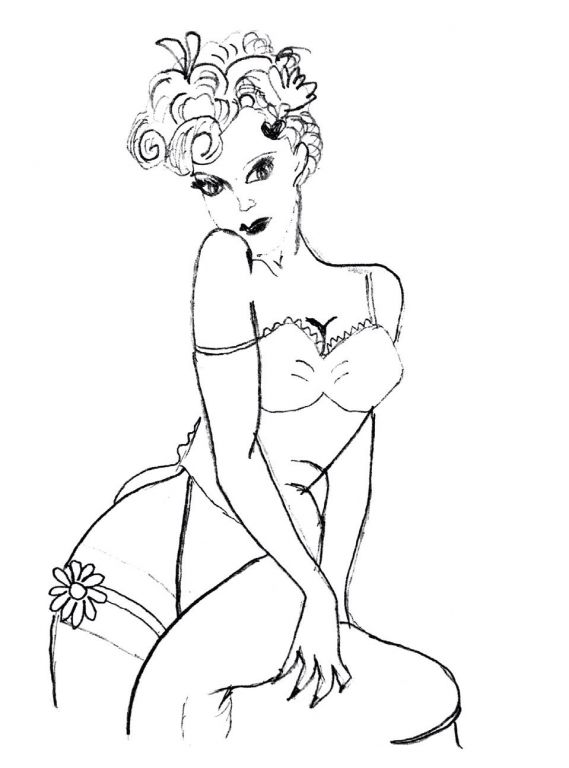 Σκίτσο της Πέννυς Μπαλτατζή