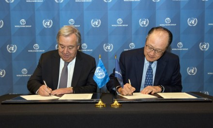 UN-World Bank Group Sign a Strategic Partnership Framework for the 2030 Agenda