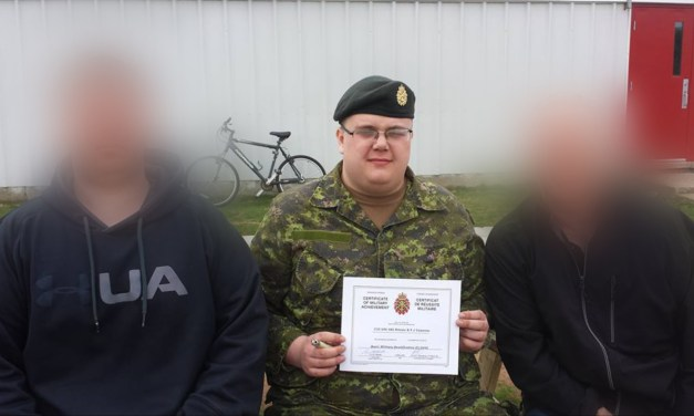 Member of a Neo-Nazi Terror Group Appears To Be Former Canadian Soldier