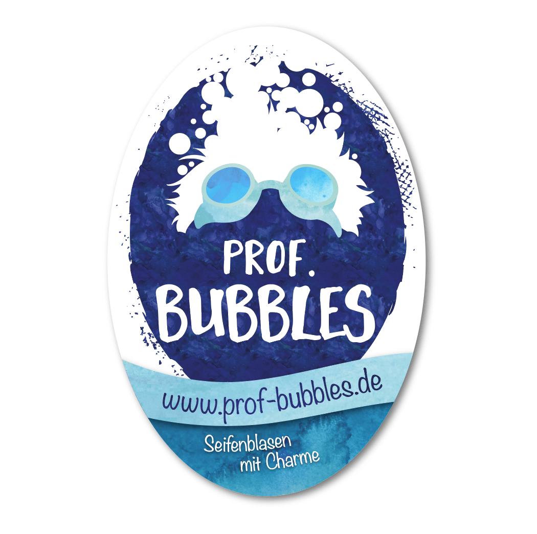 Outdoor-Aufkleber für Prof. Bubbles