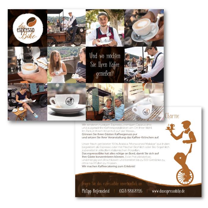 Postkarte für das espressoBike