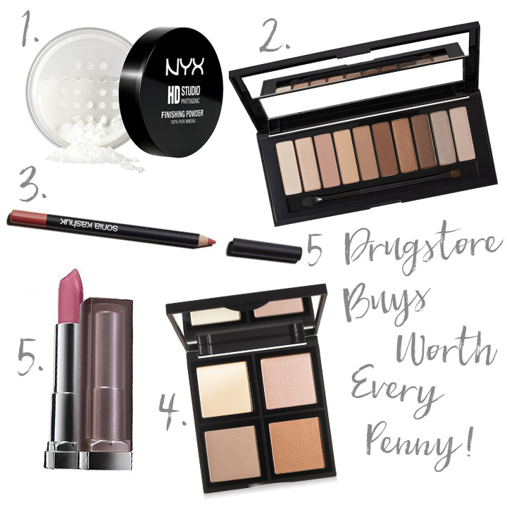 5 Drugstore Makeup Buys that Deserve your Full Attention