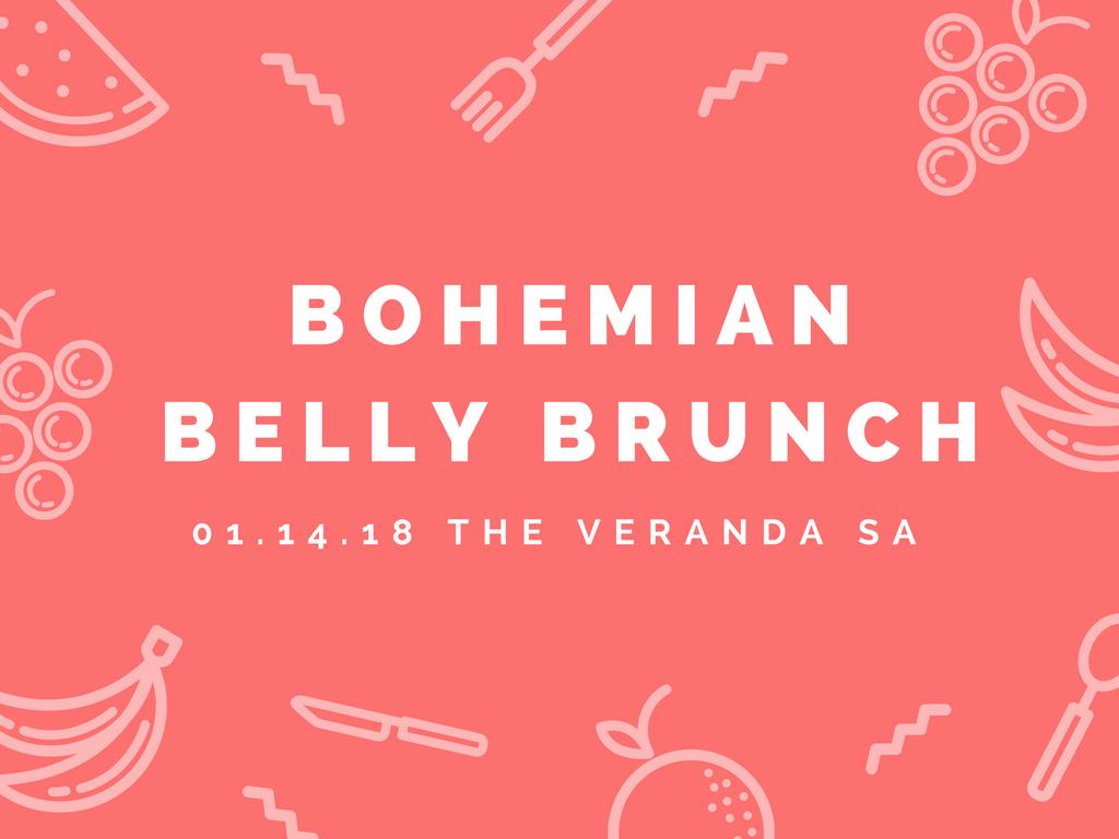 bohemian belly brunch, pineapple house platforms, san antonio, tX