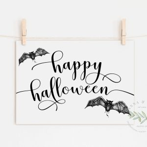 Happy Halloween Printable Art