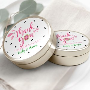 """Printable Watermelon Thank You Labels/Tags- 3"""" Inch"""