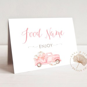 Place & Buffet Cards